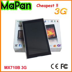 3G tablet with phone call function/7 inch 2 cameras MaPan phone call tablets