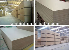 raw mdf/plain mdf for furniture/1220*2440 MDF boad for sale