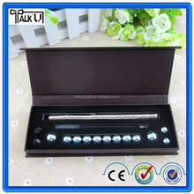 Magnetic floating desk metal ballpoint pen/School table stand magnetic ballpoint pen/Fashion stationery metal ballpoint pen