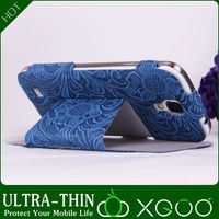 Wholesale leather case for samsung s4,XGUO