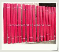 Pullwinding fiberglass polyester tubes Fibreglass tubes for sale