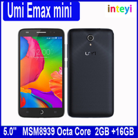 "Original Umi eMAX mini 4G LTE Mobile Phone MSM8939 Octa Core 5.0"" 2GB RAM 16GB ROM 13MP Camera Android 5.0 Lollipop"