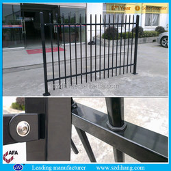 wrought iron fence/ cheap wrought iron fence/iron fence dog kennel