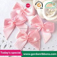 pre made mini satin ribbon bow