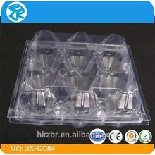 custom-made pet fruit container blister plastic boxes eggs blister packaging
