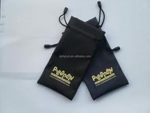 Custom logo full print sunglasses microfiber bag