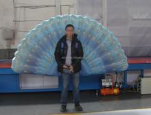 outdoor garden furniture inflatable Peacock costume