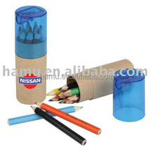 Color pencil set with sharpener for school