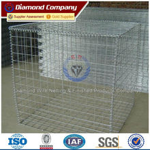 Type of security gabion wire fence/welded wire mesh gabions
