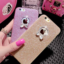 UltraThin Glitter TPU Soft Mobile Phone Case For iPhone 6 iPhone 6 plus Bling Bling Case