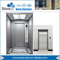 Hairline Stainless Steel Passenger Elevator Cabin for Mitsubishi, FUJI, SCHINDLER, SIGMA