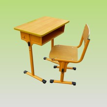 """Chinese desk and chairs """"Talen"""" for school furniture."""