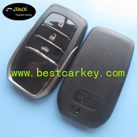 New Style 3 button car remote case with emergency key for toyota key cover toyota smart key