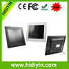 Fresh new 8 inch promotion digital picture photo frame(inner memory optional)