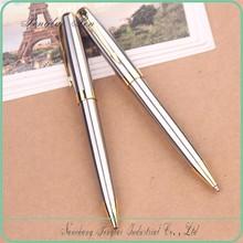 2015 Silver pen gold metal ball pen luxury gift pen