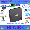 Sell dircecly 1.5GHz Android 4.4 TV Box 1G 8G WIFI H.265 M5 android tv box with skype