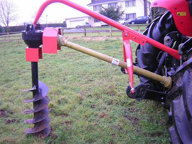 land digging machine
