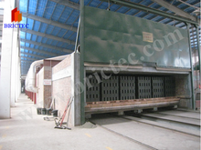 Efficient drying and firing kiln for clay bricks and blocks