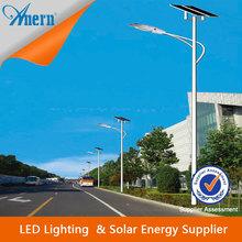 50w bridgelux chip buenos precios de la energía solar luces de la calle 50w con 8 millones de alta del poste