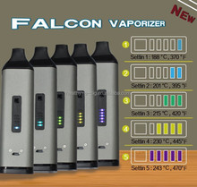 latest design vaporizer dry herb Falcon vaporizer with water tank filter