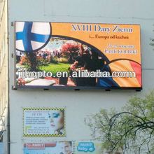 2012 Fashion Stage viewing angle 1R1G1B ph16 outdoor full color led screen wall sign making machine