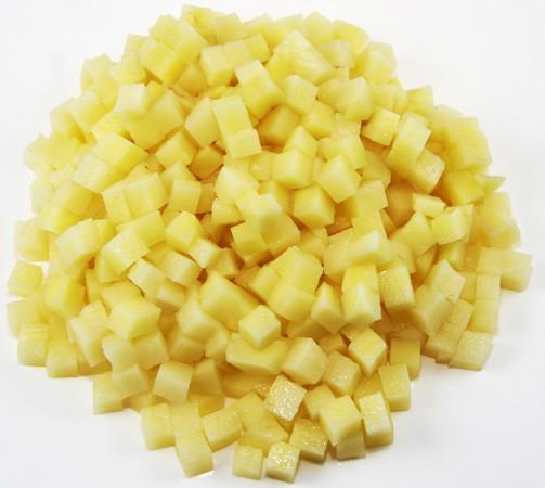 De pommes de terre machine de d coupe automatique cube de pommes de terre en zigzag machine de - Comment couper des pommes de terre en cube ...