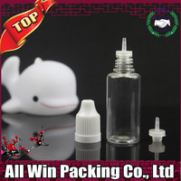 empty popular 10ml pet plastic dropper bottle for e liquid packing with childproof cap on sale