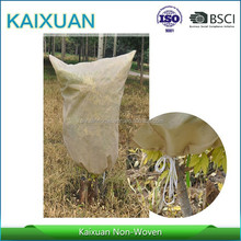white color,30g/m2,100%polypropylene nonwoven winter frost plant protection bags,plant warming jackets