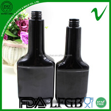 350ml PET high quality plastic engine oil bottle with child proof cap