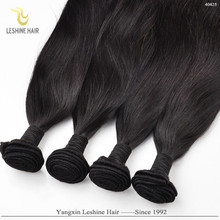 Good Feedback Wholesale Price Top Quality Double Weft straight remy virgin peruvian hair weave