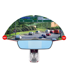 Rearview mirror manual car camera hd dvr with gps