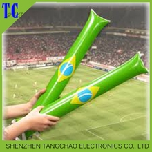 Advertising PE noise inflatable thunder cheering stick