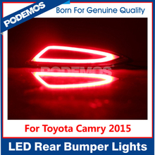 Car reflector led lights rear bumper guide lights led rear bumper lights for new Toyota Camry 2015 V55 hybrid