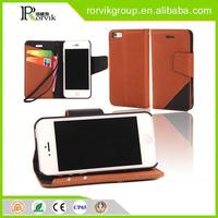 2015 new arrive joint wallet style mobile phone case for iphone 5 5S