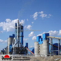 High Tech Dry Process of Cement Manufacturing Plant with ISO 9001:2008