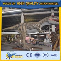 Attractive Dino Park Animatronic Life Size Dinosaur Statues