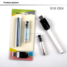 Smart design 510 ce4 wax vaporizer pen/disposable d wax vaporizer pen