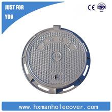 Direct sale EN124 cast iron hinged manhole covers
