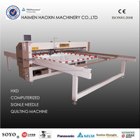 HXD-26 computerized single needle quilting machine, automatic quilting machine