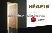latest design wooden interior composit doors
