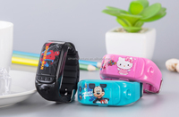 Taking photo and send back,Calling and shouting directly,Kid can press SOS button for help in emergency black kids smart watch