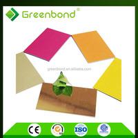 Greenbond aluminium panel office partition plastic interior wall decorative panel lowes