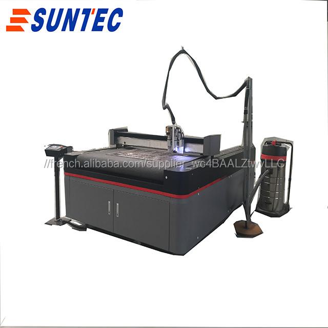 UV imprimé papier de coupe oscillant traceur de découpe
