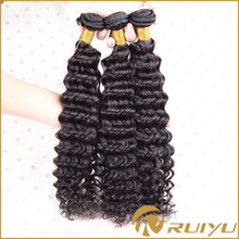 raw virgin brazilian deep curl braiding human hair extensions