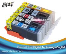 PGI550/CLI551 refill ink cartridge with reset chip for Canon PIXMA IX6850 printer