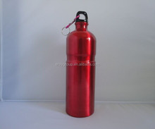 1000 ml aluminum drinking bottle with carbiner