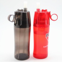 promotional bpa free plastic food grade spray bottle for drinking with competitive price
