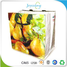 JEYCO BAGS China supplier OEM recycled pp non woven handled shopping bag with customized image for printing
