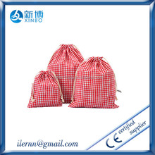 Promotional fashion non woven/cotton/nylon drawstring bag