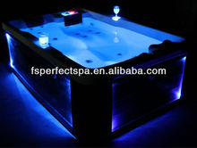 2012 Promotion Hydromassage whirlpool spa for 3 persons